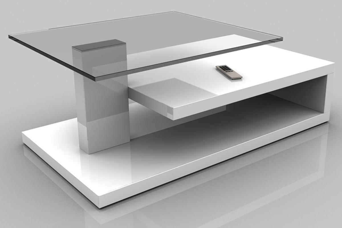 table basse marta laque blanche haute brillance dim 1030 x 600 x 400 mm. Black Bedroom Furniture Sets. Home Design Ideas