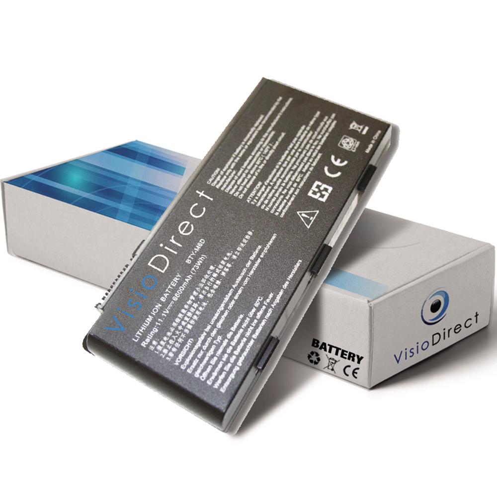 Batterie 11.1V 6600mAh pour or...