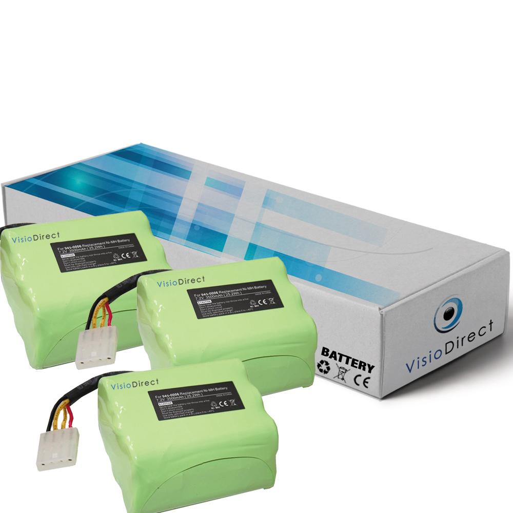 Lot de 3 batteries pour Neato ...